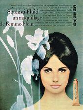 PUBLICITE ADVERTISING 014   1962   CHEN-YU  cosmétiques SOPHISTI-FLUID