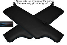 BLUE STITCHING FITS JAGUAR XJ6 SERIES 2 2X SUN VISORS LEATHER COVERS ONLY