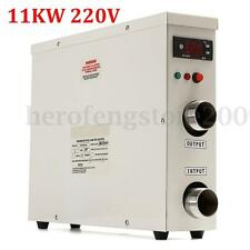 11KW 220V  Electric Hot Water Heater Thermostat For Swimming Pool Spa New