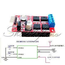 12V/24V/36V 450W H-Bridge2 Channel PWM DC Motor Driver Module Reversing Brake S