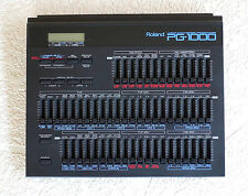 Roland PG1000 Programmer Vintage Synthesizer Keyboard Rare Synth D550 D-50