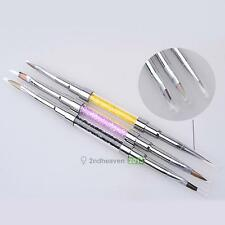 Pro Beauty Nail Art Design Dotting Painting Acrylic Drawing Polish Brush Pen NEW