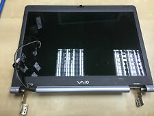 Sony VAIO  / pcg-9rhm  Screen, Lid, Cable and Hinges full assembly