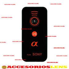 MANDO INALAMBRICO PARA Sony ALPHA a900 a700 a550 a6000 NEX5 NEX6 NEX7