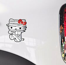 Cat Hello Kitty Zombie Mummy Bumper Walking Random Body Wall Decals car stickers