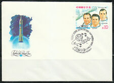 Soviet Russia 1981 FDC space cover Soyuz T-3 crew
