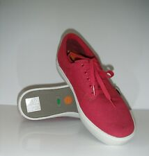 New Timberland Men's 5060R Eearthkeepers 2.0 Cupsole Red Canvas Deck Sneaker sz9
