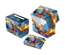 DECK BOX PORTA MAZZO Orizzontale Chandra Pyromaster MTG MAGIC 2014 M14 Ultra Pro
