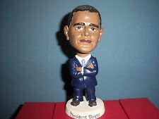President BARACK OBAMA Blue Suit Bobble Head Figure New In Box