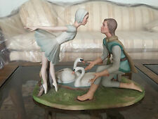 Artist Signed LASZLO ISPANKY Limited Edition 63/300 BALLET Figurine SWAN LAKE