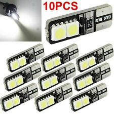 10 CANBUS ERROR FREE LED White T10 168 194 W5W Wedge 4 SMD 5050 Light bulb L7