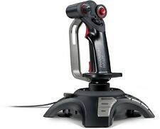 Speedlink PHANTOM Hawk FlightStick, joystick, vibrazioni, controllo 3d, Black