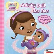 Doc McStuffins a Baby Doll for Doc by Disney Book Group (2016, Hardcover)