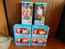 Heart Family Visits Disneyland Dolls, LOT of 6 Boxes,Kids on Parade,Dad,Mom,NIB