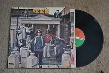 Yes Classic Rock w/ insert & lyrics Original Record lp VG+