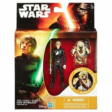 "Hasbro Star Wars Return of the Jedi 3.75"" Desert Mission Armor Luke Skywalker"