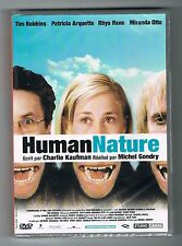 HUMAN NATURE  - MICHEL GONDRY - TIM ROBBINS & PATRICIA ARQUETTE - DVD NEUF NEW
