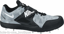 New Nike Zoom Javelin Elite 2 Track & Field Shoes Black Gray Size 12