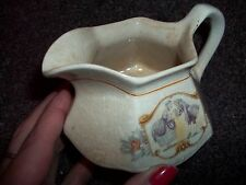 vintage pitcher Colonial man and women kissing hand made in Salem china very old