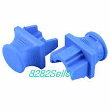 10 PCS Blue RJ45 Jack Dust Caps Port Cover and Protector Boot  cat5 cat6 Switch
