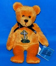 "Holy Bears {SPIRIT) Orange Bear Tribute Series (8.5"") Bean Bag Plush 1999 New"