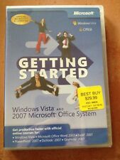 ☀️ Microsoft Getting Started: Windows Vista & Office 2007 Learning Lessons NEW