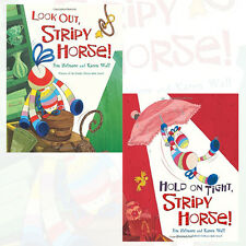 Stripy Horse Collection Jim Helmore 2 Books Set,Look Out,Hold on Tight Brand NEW