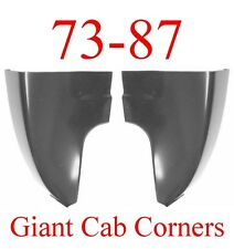 73 87 GIANT Chevy GMC Truck Cab Corner Set Rust Repair Left & Right Silverado