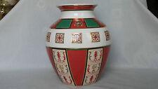 Hutschenreuther - Porzellan - Vase bauchig  Motive aus Semperoper Dresden