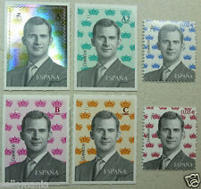 2016 BASIC SERIES THE OF KING SPAIN FELIPE VI EDIFIL 5013 / 18 ** MNH TP20017BIS