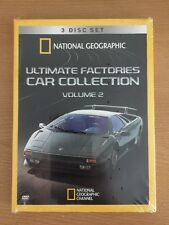National Geographic Ultimate Factories Car Collection DVD Set Volume 2 NEW SEALE