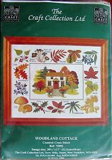 Cross Stitch Kit - The Craft Collection - Woodland Cottage