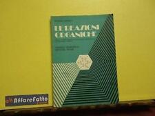 ART 5.185 LIBRO LE REAZIONI ORGANICHE DI ARRIGO DANIELI VOL 2 1974