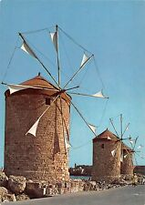 BT1161 rhodes the mill windmill greece moulin a vent