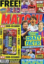 TORRES / CHELSEA / MAN UTD Match + CARDS Nov 3 2009 - 10