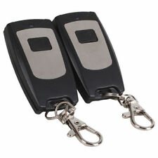 315MHz 1 Ch RF Wireless Remote Control Garage Door Keyless Entry Pack Of 2