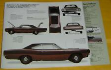 1968 Plymouth Road Runner roadrunner 383 ci 335 hp IMP Info/Specs/photo 23x8