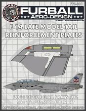 Furball 1/48 Photo etch F-14 Tomcat Tail Reinforcements for Tamiya FPE-48001