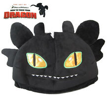 """11"""" Night Fury Toothless Plush Hat Cap Beanie from How to Train Your Dragon #A"""