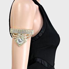 Lush Oro Cristallo Braccio Bracciale Braccialetto Catena da cocktail da rocce Boutique