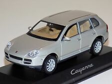 1/43 Minichamps Street Porsche Cayenne in Silver Dealer Edition