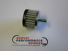 Suzuki GSF1200 Bandit Crankcase breather filter.10mm male fitting. rubber cap.