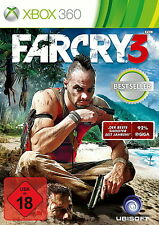 Microsoft xbox 360 jeu Far Cry 3 usk 18