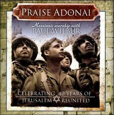 NEW Praise Adonai by Paul Wilbur CD (CD) Free P&H