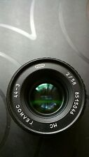 Fantastic  HELIOS 44-3 MULTI COATED 58mm f2  M42 LENS SERVICED/TESTED  SMOOTH