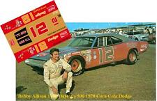 CD_1561  #12 Bobby Allison  1970 Dodge Charger  1:32 scale decals