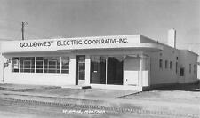 RPPC WIBAUX MT Goldenwest Electric Co-Operative Inc Real Photo Postcard ca 1950s