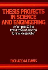 Thesis Projects in Science and Engineering: A Complete Guide from Problem Select