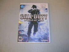 CALL OF DUTY WORLD AT WAR (Nintendo Wii) Complete