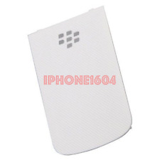 BlackBerry Bold 9900 9930 Battery Door Back Cover - White - Brand New - CAD